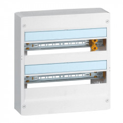 Coffret DRIVIA 18 modules 2 rangées IP30 IK05 - 401222 - LEGRAND