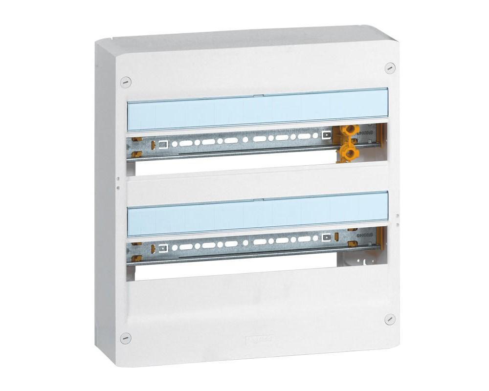 Coffret DRIVIA 18 modules 2 rangées IP30 IK05 - 401222 - LEGRAND