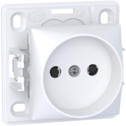 Alréa, prise de courant 2P, connexion rapide, blanc polaire - ALB61274P