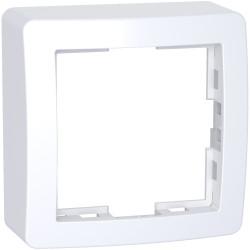 Alréa, Cadre saillie standard simple, 62x62mm, profondeur 31mm, blanc polaire - ALB61441P