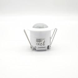 Détecteur de mouvement encastrable 360° - Diamètre de détection 6M
