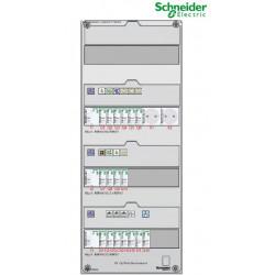 Tableau Electrique SCHNEIDER XP TAMC 35 à 100m² chauffage électrique face