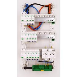 Tableau électrique SCHNEIDER RESI 9 - XE TAMC - 35 à 100m² - intérieur