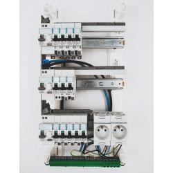 Tableau électrique monté câblé 35 à 100m² - LEGRAND  intérieur