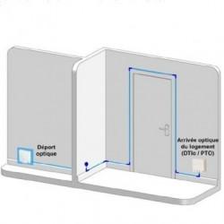 Kit PT'Home DIY Rallonge fibre optique de 30m avec accessoires