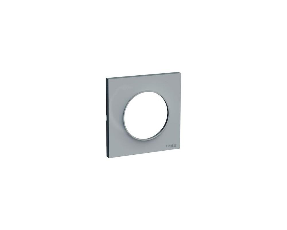 Odace Styl plaque Gris 1 poste - S520702A1