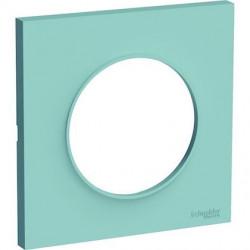 Odace Styl plaque Bleu Cian 1 poste - S520702C