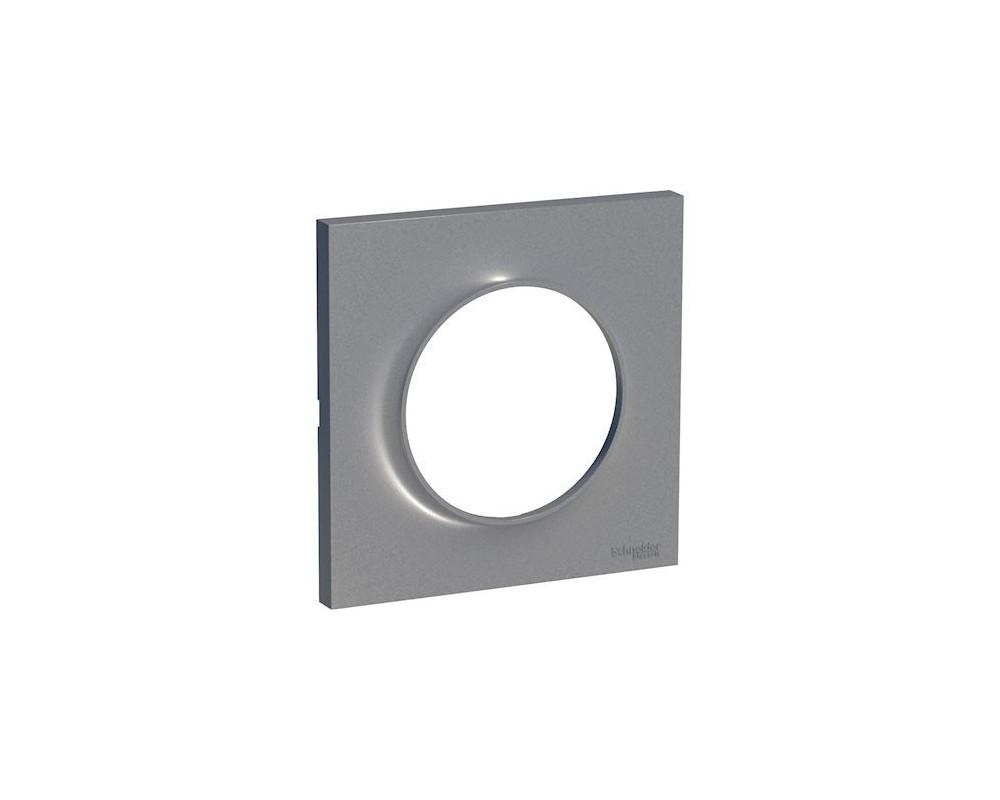 Odace Styl, plaque Alu 1 poste - S520702E