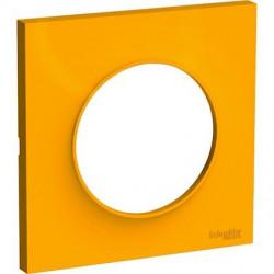 Odace Styl plaque Ambre 1 poste - S520702G