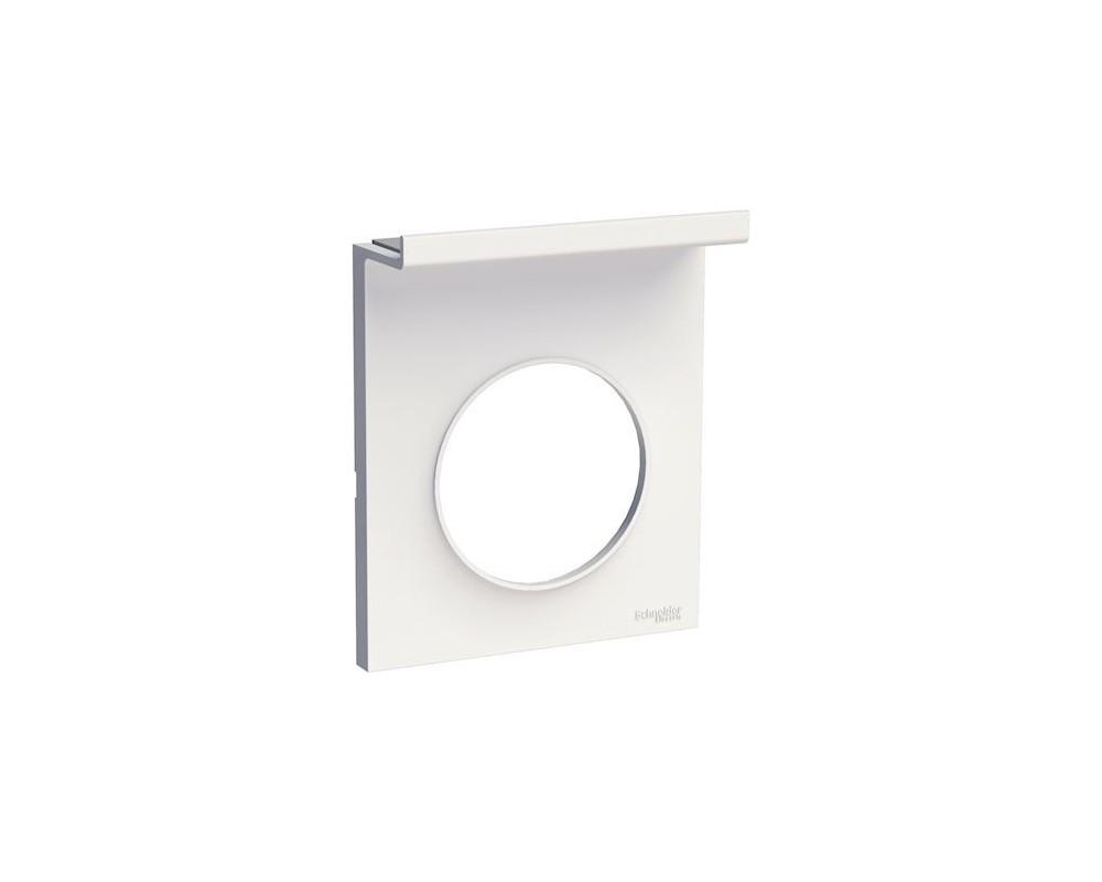 Odace Styl Pratic, plaque Blanc support téléphone mobile, 1 poste - S520712