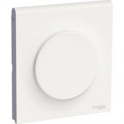 Odace Styl Pratic, plaque Blanc avec couvercle intégré pour prise 1 poste - S520752