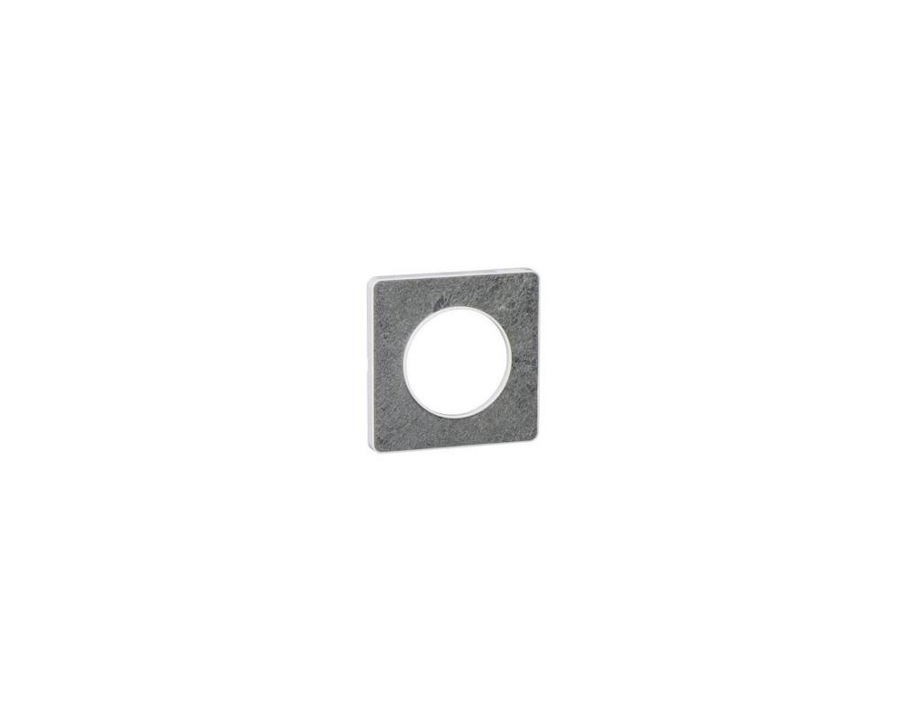 Odace Touch, plaque Pierre Galet 1 poste - S520802U