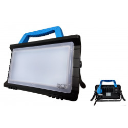 Projecteur portatif 25W Led avec PC 2P+T et prise USB - PLWORK25W