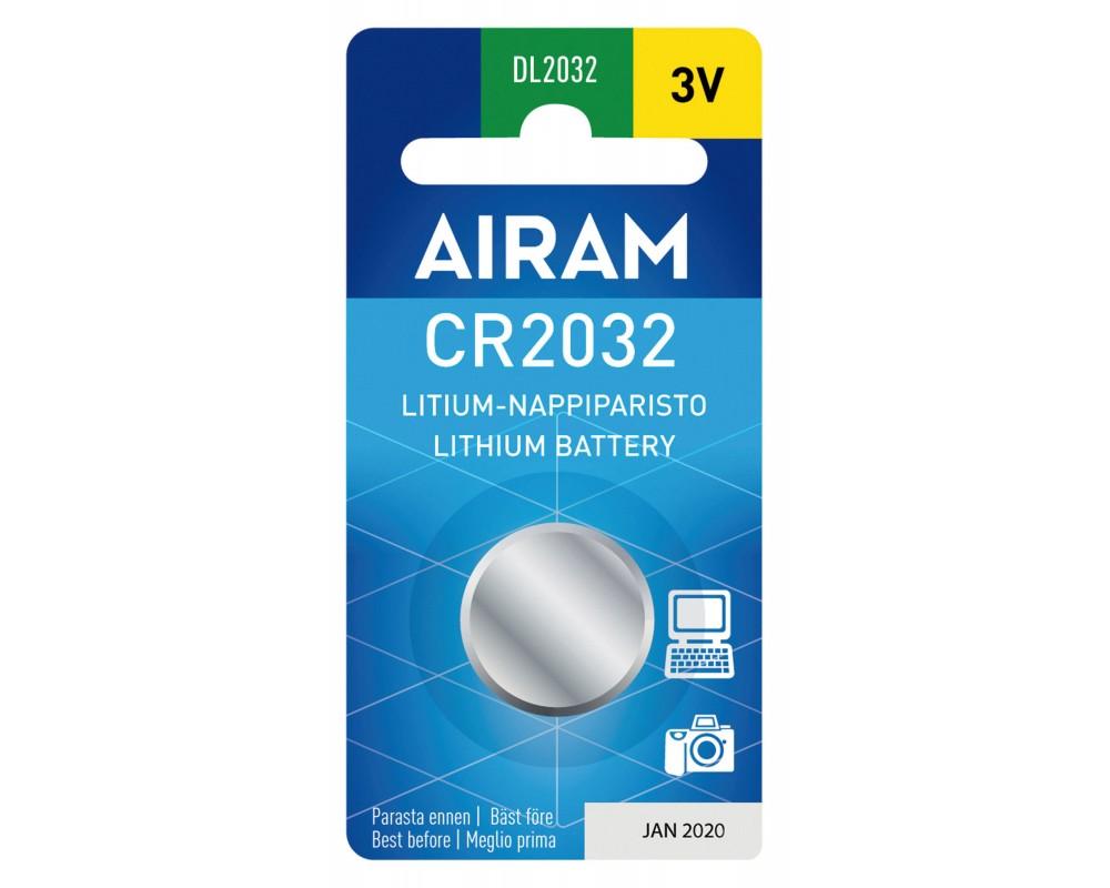 Pile lithium 3V - CR2032 - PLCR2032