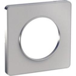 Odace Touch - plaque de finition 1 poste - Alu - S530802