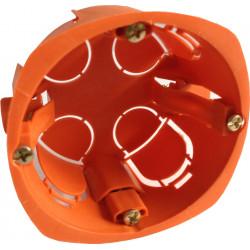 Boite d'encastrement 1 poste diam.68mm
