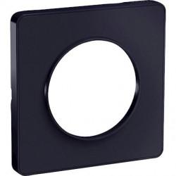 Odace Touch- plaque de finition 1 poste - Anthracite - S540802