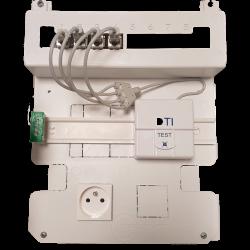 Kit de communication encastré - KITCOMG3 clipsable - COFRELEC
