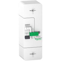 Resi9 DB60 - Disjoncteur Branchement - 1P+N - 60A fixe - 500mA - Selectif - R9FS660 - SCHNEIDER
