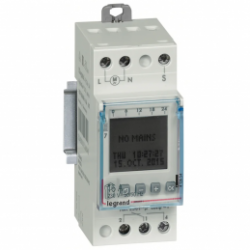 Interrupteur horaire astro - 412654 - Legrand