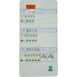 PACK Tableau électrique XE 3 rangées, GTL et coffret de communication - TAMC