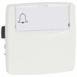 Poussoir 6A porte-étiquette Appareillage saillie composable - blanc - 086109
