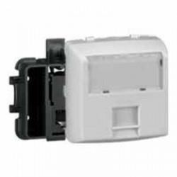 Prise RJ45 catégorie5e FTP Appareillage saillie composable - blanc - 086161