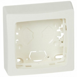 Cadre saillie 1 poste Appareillage saillie blanc - 086091