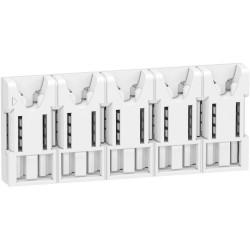 répartiteur embrochable XE 5 modules sans connecteur - R9EXHS05