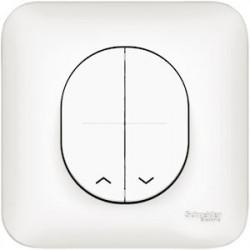 Ovalis - bouton-poussoirs pour volet roulant - S260207
