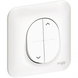 Ovalis - interrupteur pour volet-roulant - verrouillage méca entre haut et bas - S260208