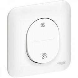 Ovalis - bouton poussoir pour VMC - 2 vitesses - S260236