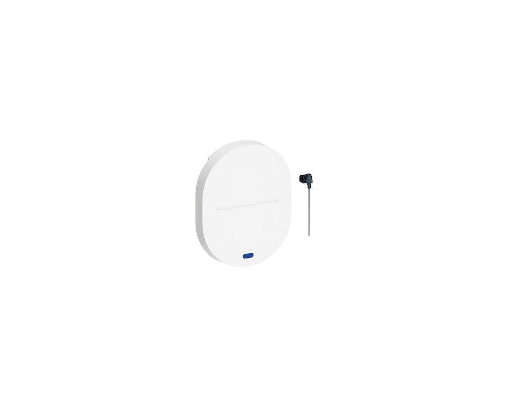 Ovalis - touche simple + voyant LED bleu 0,15mA 250V témoin ou localisation - S260297