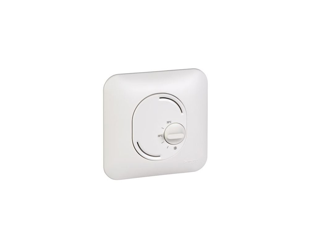 Ovalis - thermostat d'ambiance - chauffage/climatisation - S260500