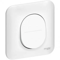 Ovalis - bouton poussoir à fermeture - 10A - avec griffes - S265206
