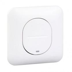 Ovalis - interrupteur simple - lumineux temoin/localisation - avec griffes - S265263