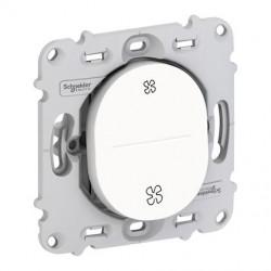 Ovalis - interrupteur VMC - 2 positions - sans plaque de finition - S261233