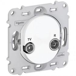 Ovalis - prise TV/R - sans plaque de finition - S261451