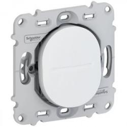 Ovalis - interrupteur va et vient - 10AX - sans plaque de finition - lot de 40 - S263204