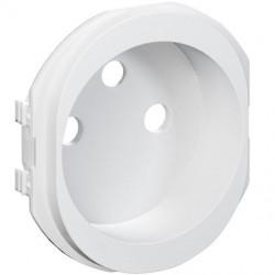 Ovalis - Ovalis, enjoliveur seul prise de courant 2P+T 16A - S260659