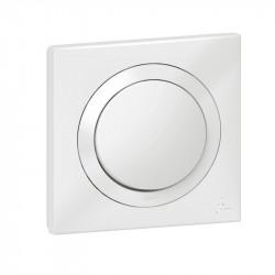 Interrupteur ou va-et-vient dooxie IP44 10AX 250V~ livré avec plaque carrée blanche - 600013