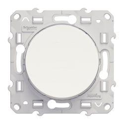 BOUTON POUSSOIR BLANC - Schneider Odace - S520206