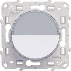 Poussoir porte étiquette BLANC - Schneider Odace - S520266