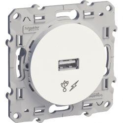 PRISE ALIM USB 5V - Schneider Odace - S520408