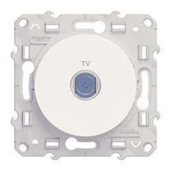 PRISE TV BLANC - Schneider Odace - S520445