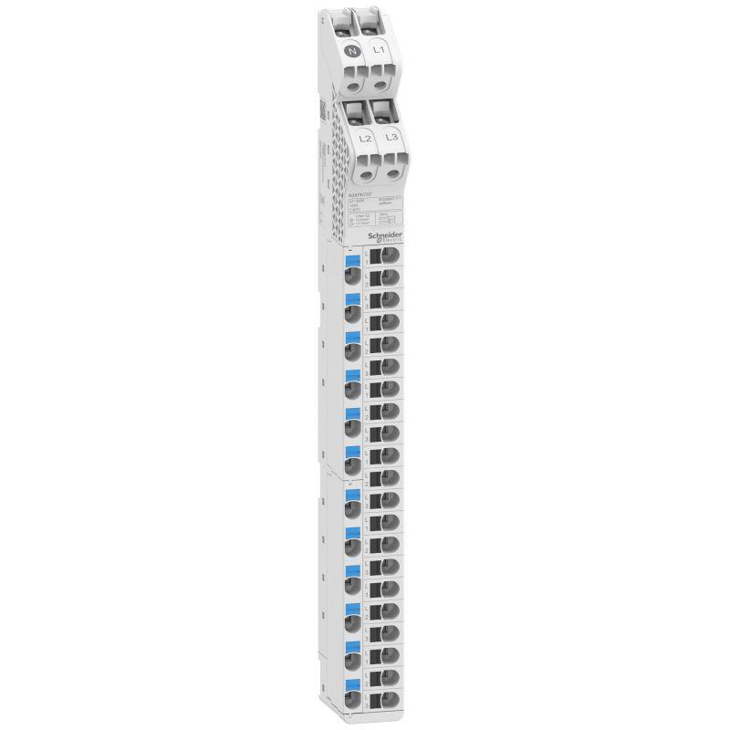 Acti9 Vdis - répartiteur vertical - 125A 250/440V 33 points de connexion - A9XPK707