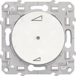 Variateur universel à poussoir Plus Link blanc - Schneider Odace - S520560