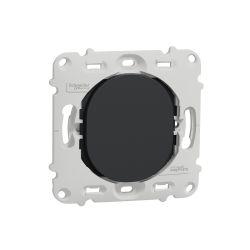 Ovalis - obturateur - sans plaque de finition -Anthracite- S461666