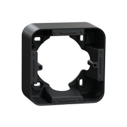 Ovalis - Boîte support pour montage en saillie -Anthracite- S460762