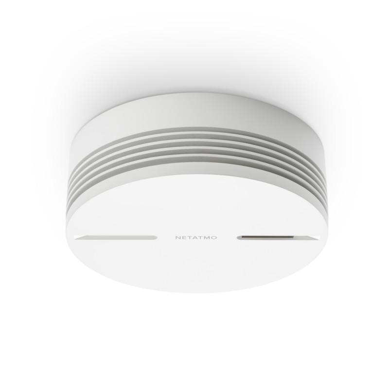 Détecteur de fumée intelligent avec alarme 85db - NETATMO